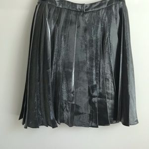 NWT Anthropologie Yoana Baraschi Silver Skirt $228